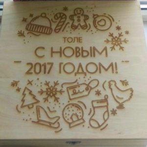 Гравировка на дереве - Русский стиль - Студия лазерной гравировки