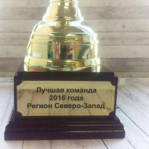 Шильда из металла - Русский стиль - Студия лазерной гравировки