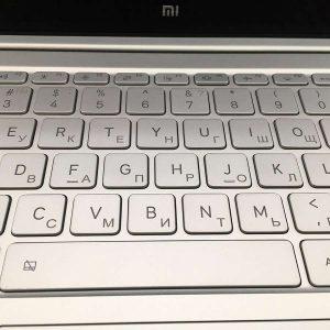 Гравировка на клавиатуре  Xiaomi - Русский стиль - Студия лазерной гравировки